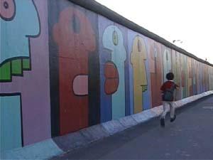 ベルリンの街を走る