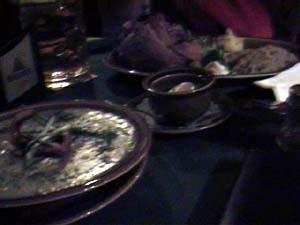 ツア・リッペで夕食