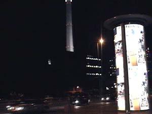 夜のベルリン