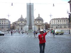 朝のポポロ広場