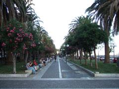 サレルノの海岸