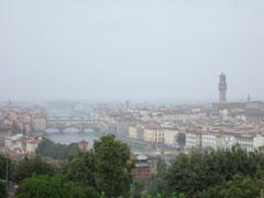 雨のフィレンツェ