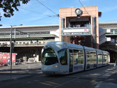 Lyonペラシュ駅の南口