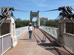 リヨンに架かる橋