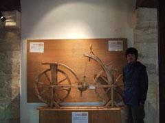 ダヴィンチ設計の自転車