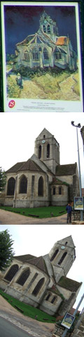 オーヴェル・シュル・オワーズの教会