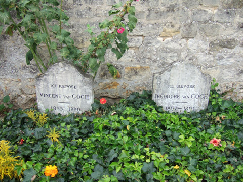 ゴッホと弟テオの墓