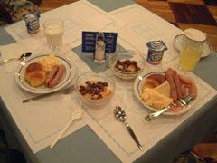 ホテル・ベルナの朝食