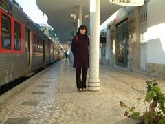 シントラ駅に到着