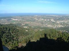 ペナ宮からの眺望