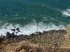 ロカ岬の絶壁
