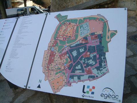 サンジョルジェ城マップ