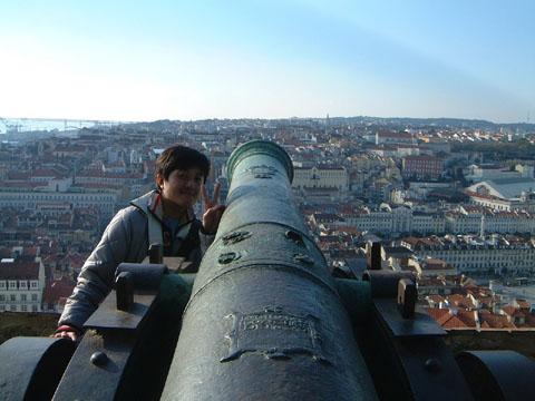 サンジョルジェ城の砲台