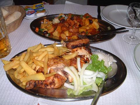 フランゴアサードとポルコアポルトゲーザ