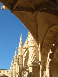 ジェロニモス修道院の回廊