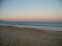 ナザレの海岸
