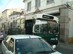 エヴォラの路線バス