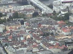 ベルゲン市街地